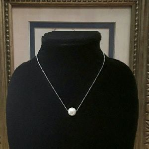 Jewelry - NEW, Pearl n Stainless Steel Choker/Necklace
